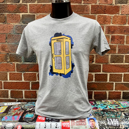 Hafenstyle - Telefonzelle T-Shirt (grey) ***LOCK DOWN***