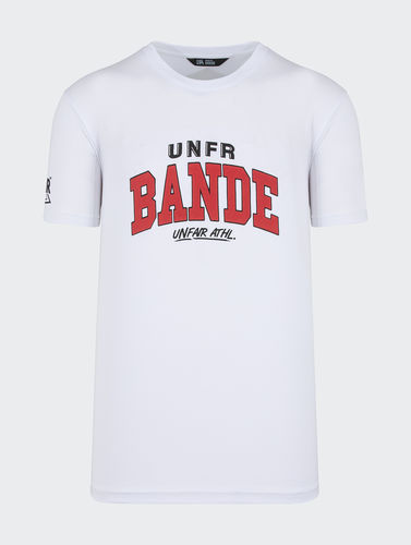 Unfair Athletics - Unfair Bande T-Shirt (white)