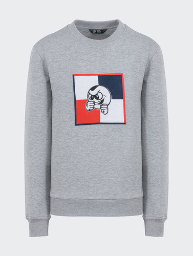 Unfair Athletics - PB Flag Crewneck (heather grey) ***LOCK DOWN***