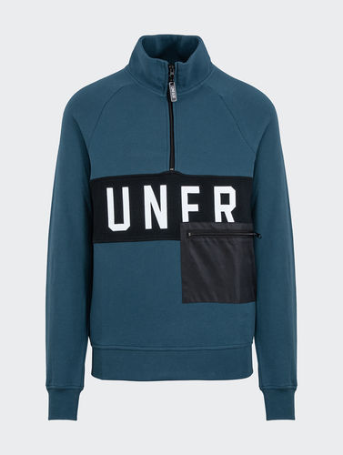 Unfair Athletics - UNFR Halfzip (Petrol)