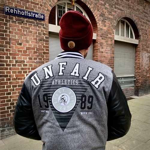 Unfair Athletics - College Jacket (black) ***SALE***