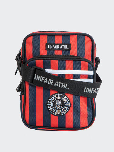 Unfair Athletics - DMWU Striped Bag (red) ***SALE***