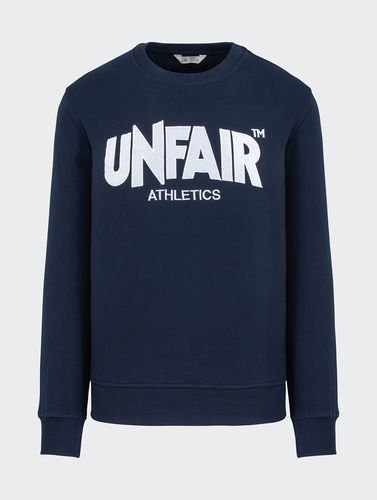 Unfair Athletics - Classic Label Tatami Stick Crewneck (navy) bis 5 XL ***LOCK DOWN***