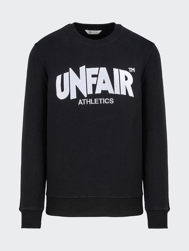Unfair Athletics - Classic Label Tatami Stick Crewneck (black) bis 5 XL ***LOCK DOWN***