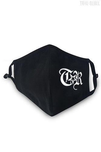 True Rebel- Stoffmaske (black)