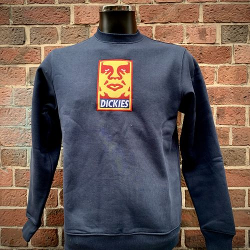 Dickies - Obey Crewneck (dark navy) ***KICK OUT***