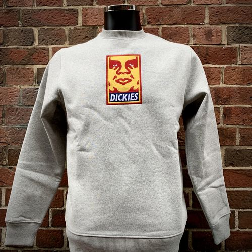 Dickies - Obey Crewneck (grey) ***SALE***