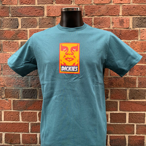 Dickies - Obey T-Shirt (petrol) ***SALE***