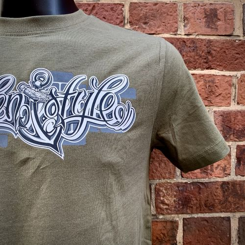 Hafenstyle - Wall Logo T-Shirt (olive) ***LOCK DOWN***
