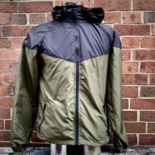 Hafenstyle - HS Two Color Action Jacket (black / olive) Bis 5XL