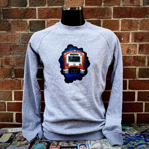 Hafenstyle - S Train Frontal Crewneck (grey) bis 5XL ***LOCK DOWN***