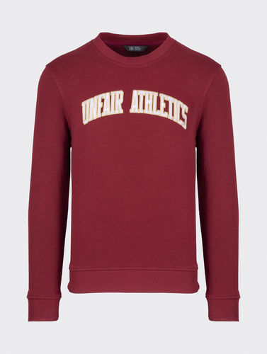 Unfair Athletics - College Crewneck (Burgundy) ***LOCK DOWN***