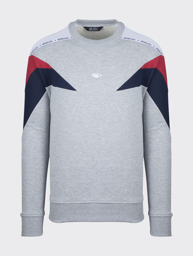 Unfair Athletics - Hash Panel Crewneck Mixed ***SALE***