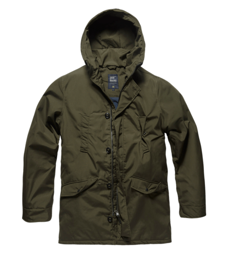 Vintage Industries - Archer Parka (dark olive) ***LOCK DOWN***