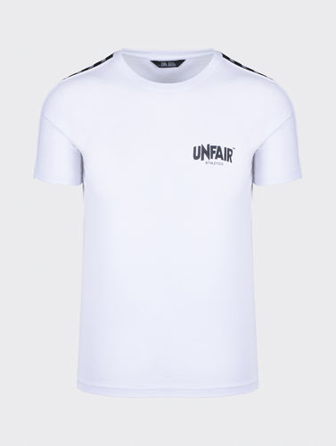 Unfair Athletics - Classic Label Taped T-Shirt (white)