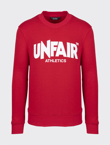 Unfair Athletics - Classic Label Crewneck (red) aw20