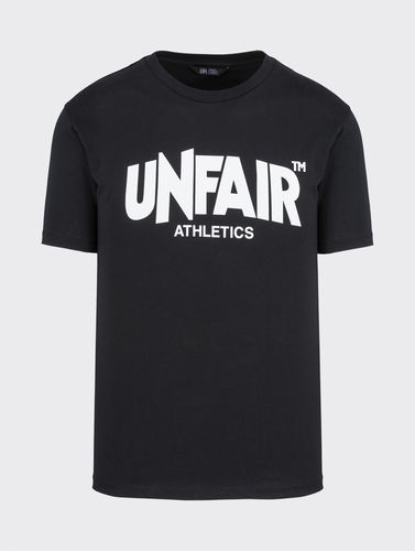 Unfair Athletics - Cassic Label T-Shirt (black) aw20