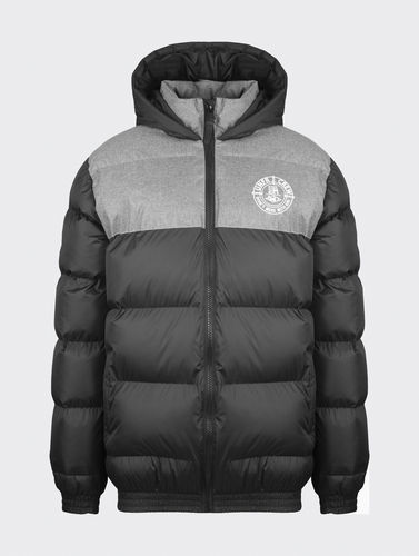 Unfair Athletics - DMWU Puffer Jacket (black / heather grey)