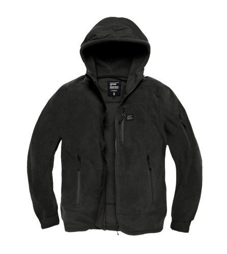 Vintage Industries - Lanford Polar Fleece Jacket (black)
