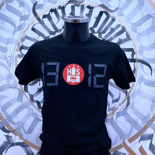 Hafenstyle - HS 1312 Time T-Shirt (black)