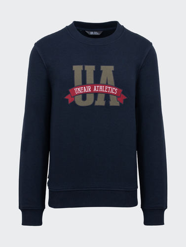 Unfair Athletics - Varsity UA Crewneck (dark navy)