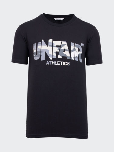 Unfair Athletics - Classic Label T-Shirt (navy sea camo)